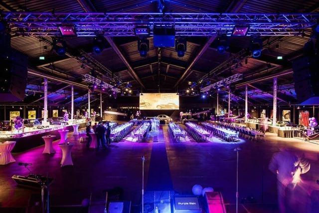 Effekte mit Licht, Sound und LED-Wand - Volante bietet hochwertige technische Ausstattung