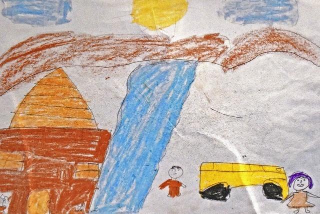Ausstellung in Denzlingen zeigt Bilder von geflüchteten Kindern aus Syrien