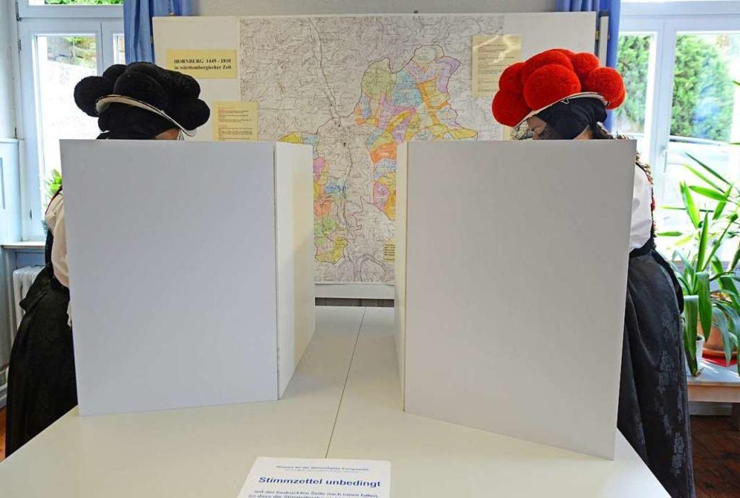 Die Kommunalwahl findet am Sonntag, 26...meinden zählen bereits am Sonntag aus.    Foto: Patrick Seeger