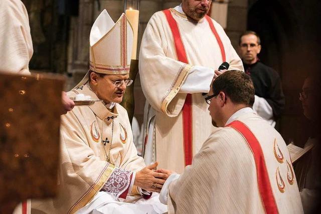 Christian Schätzle ist zum Priester geweiht worden