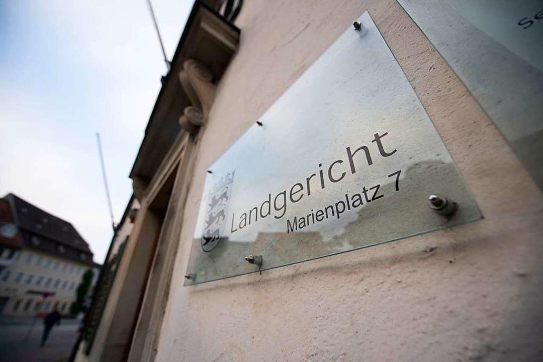 Am Landgericht Ravensburg wurde der Fa...die ihren Säugling getötet haben soll.  | Foto: dpa