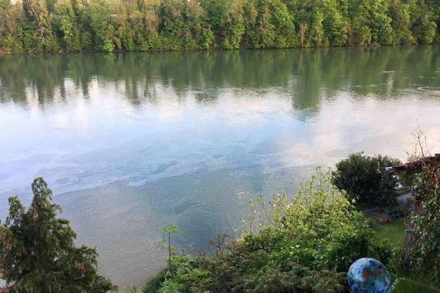 Taucher finden keine Ursache für Ölfilm auf dem Rhein