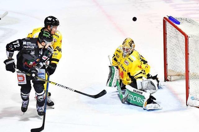 Torhüter Ben Meisner kommt als Nummer eins zum EHC Freiburg