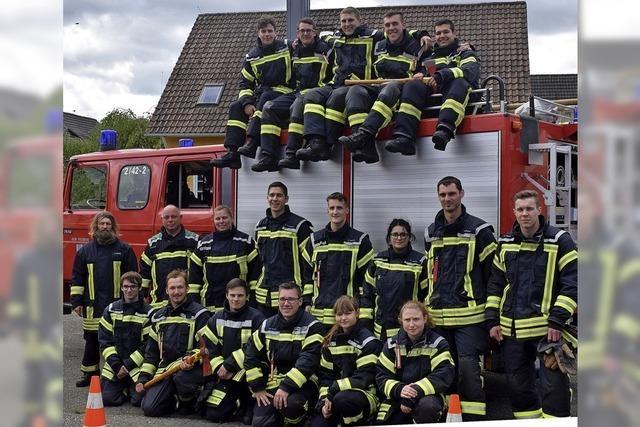 Erfolgreiche Feuerwehr