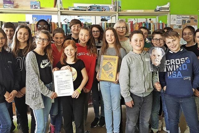 Preis für Literaturprojekt