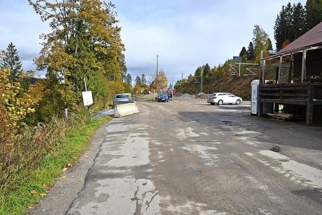 Park & Ride Parkplatz in Bärental