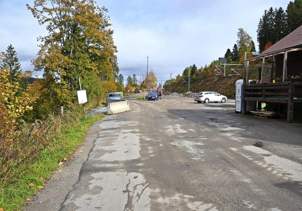 Beim Bahnhof Bärental soll  ein Park & Ride Parkplatz entstehen.   | Foto: Ralf Morys