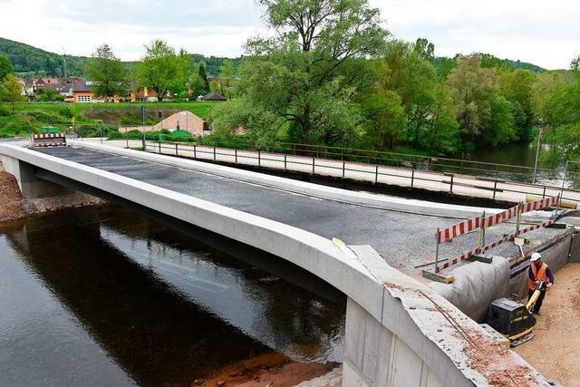 Wiesebrücke an der B 317 bei Maulburg ist zwei Monate gesperrt