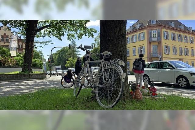 Erinnerung an getötete Radfahrer