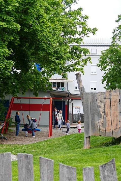 Das Pfiffikus am Spielplatz Schwedenst...gement in einem schwierigen Stadtteil.  | Foto: Ralf H. Dorweiler
