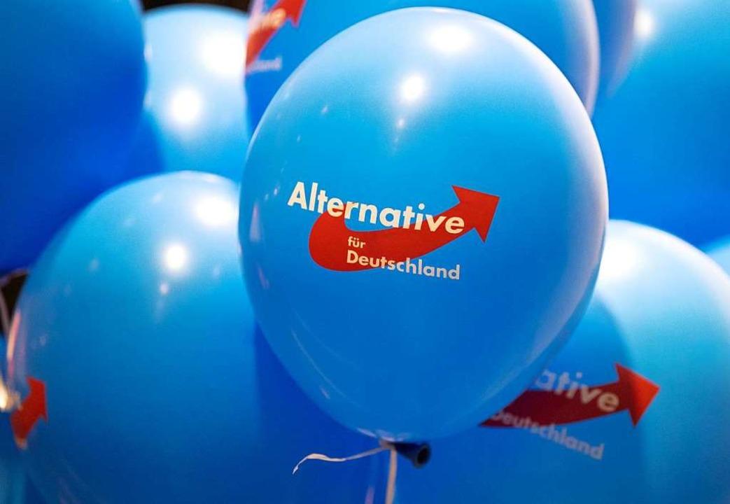 Jede demokratisch gewählte Partei hat ...hr Räume für den Wahlkampf vermietet.   | Foto: Monika Skolimowska (dpa)
