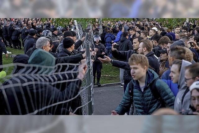 Jekaterinburg probt den Aufstand