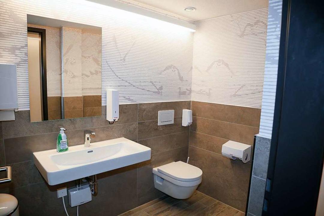 Eine der modernen Toiletten  | Foto: Sandra Decoux-Kone