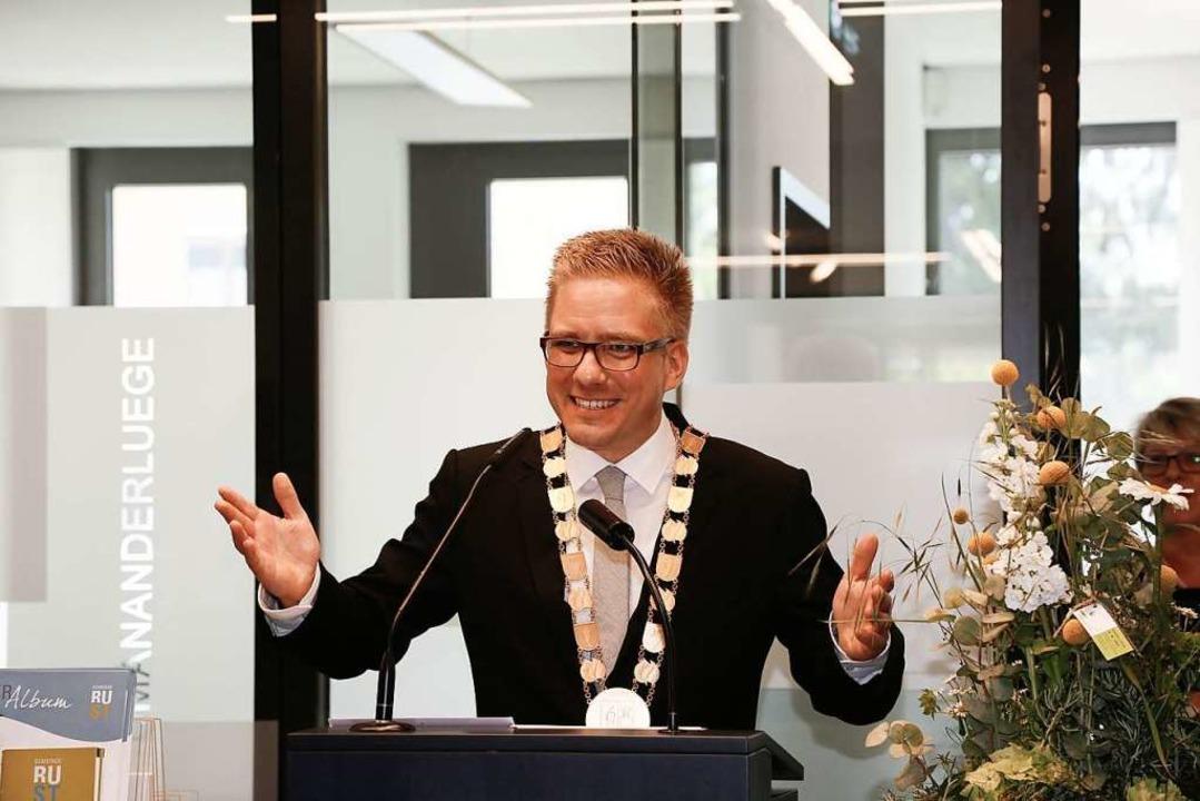 Bürgermeister Kai-Achim Klare  | Foto: Sandra Decoux-Kone