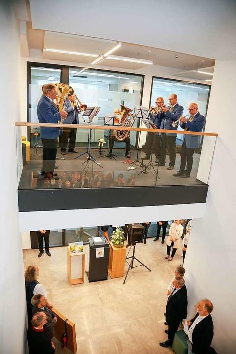 Das Foyer mit Luftraum über zwei Etagen.  | Foto: Sandra Decoux-Kone