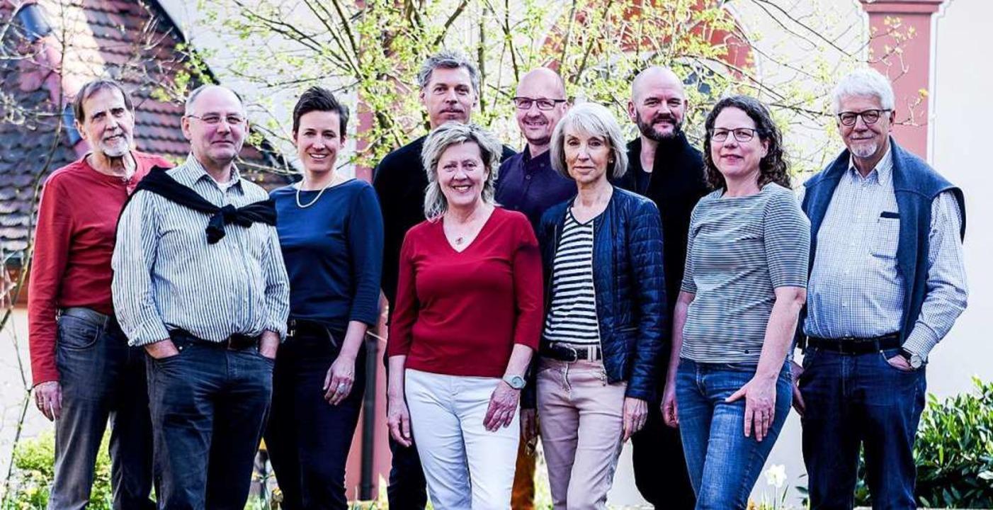 Kandidatinnen und  Kandidaten der Liste Natürlich Wittnau  | Foto: Dorothee Wetzel