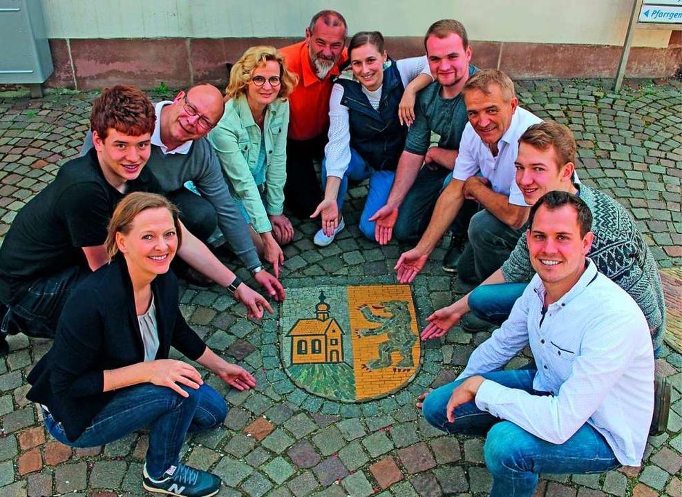 Kandidatinnen und  Kandidaten der Freien Wählervereinigung  | Foto: Freie Wählergemeinschaft Wittnau