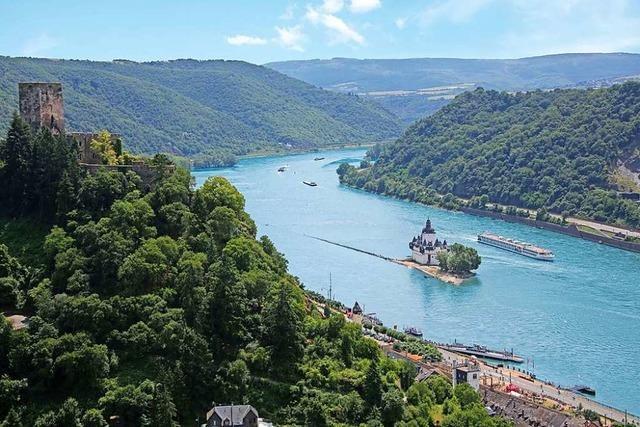 Sternenfahrt auf dem Rhein