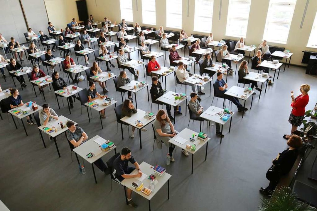 Es gab eine Panne bei den Abi-Prüfungen.    Foto: dpa