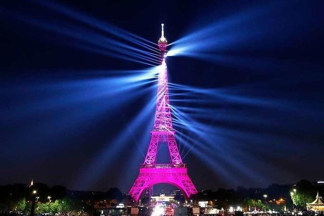 Paris feiert 130 Jahre Eiffelturm mit einer Lichterschau