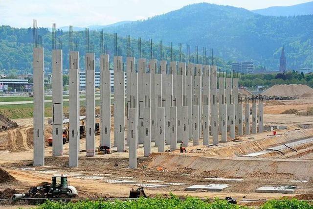 Eilantrag abgelehnt: Kein Baustopp für neues SC-Stadion