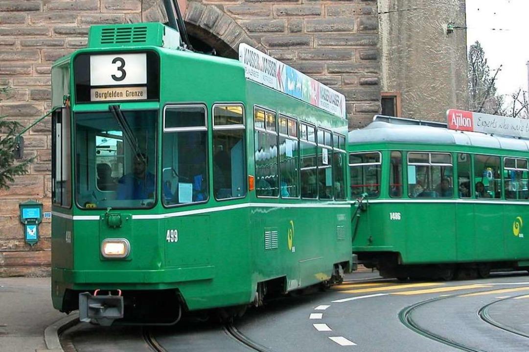 Die Tram 3 (Archivbild).    Foto: BZ