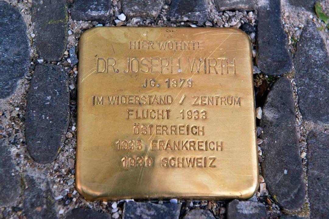 Ein Beispiel für einen sogenannten &#8...äteren Reichskanzler und Kriegsgegner.  | Foto: dpa