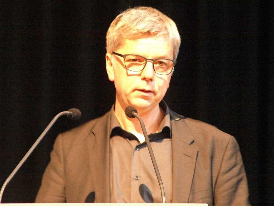 Laudator Prof. Magnus Striet    Foto: Karin Stöckl-Steinebrunner