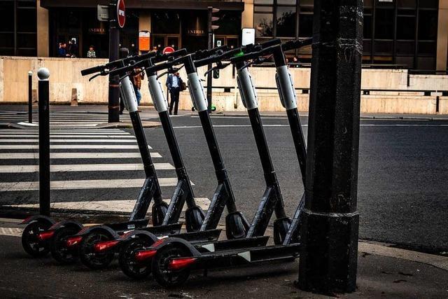 Im Ausland halten sich Elektro-Rollerfahrer kaum an Regeln