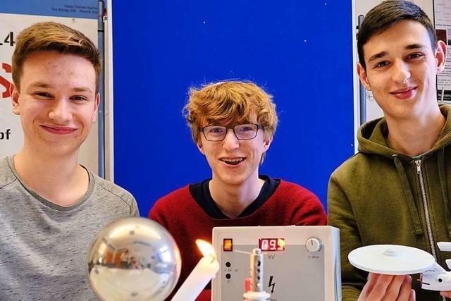 Drei Phaenovum-Schüler stehen im Bundesfinale von