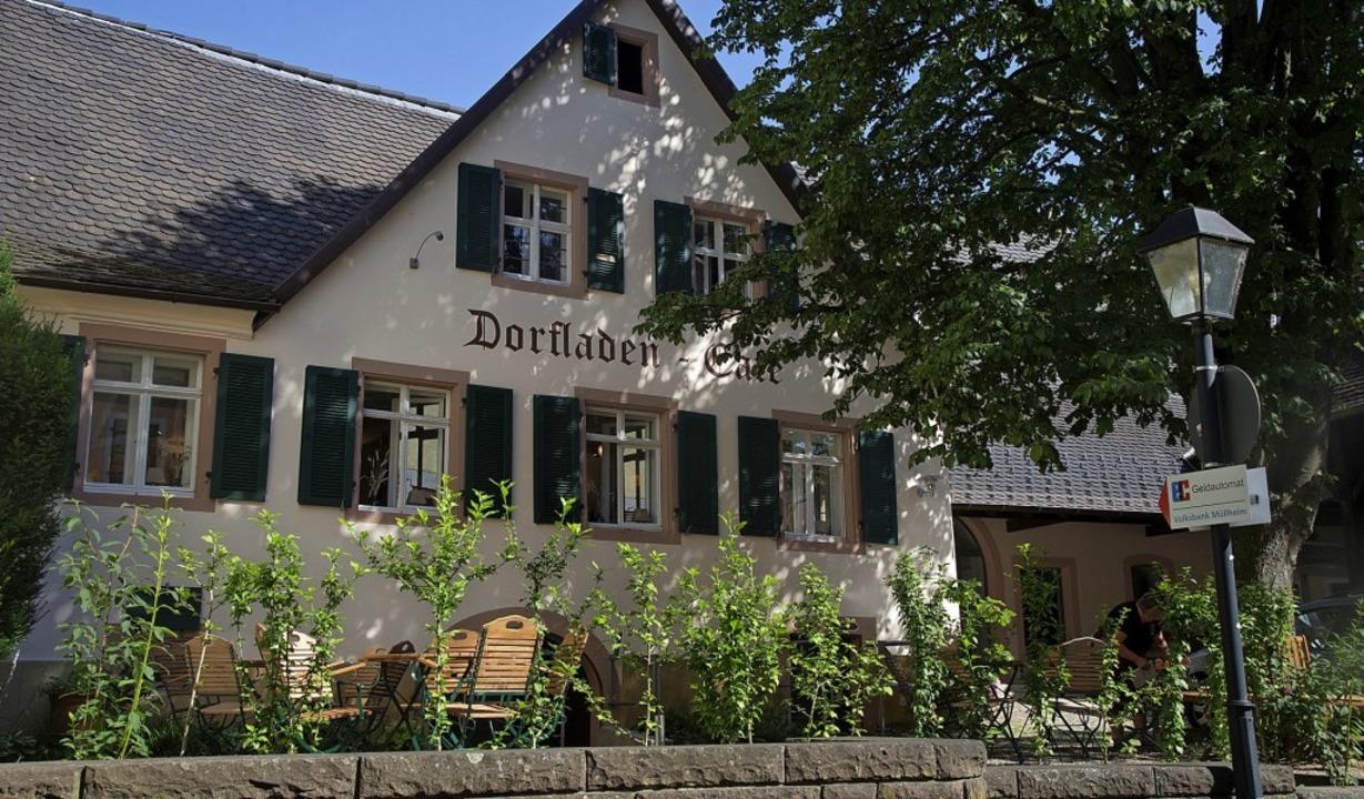 Der Britzinger Dorfladen erfüllt sowoh...sorgungs- als auch soziale Funktionen.  | Foto: Volker Münch