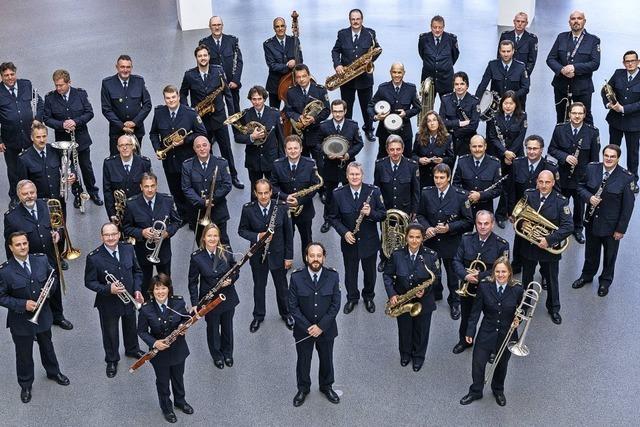 Mit dem Bundespolizeiorchester aus München in Löffingen