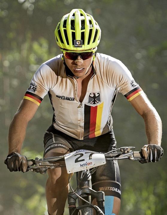 Kein Kontakt zu Helen Grobert: Mountainbiker Tim Meier   | Foto: Küstenbrück