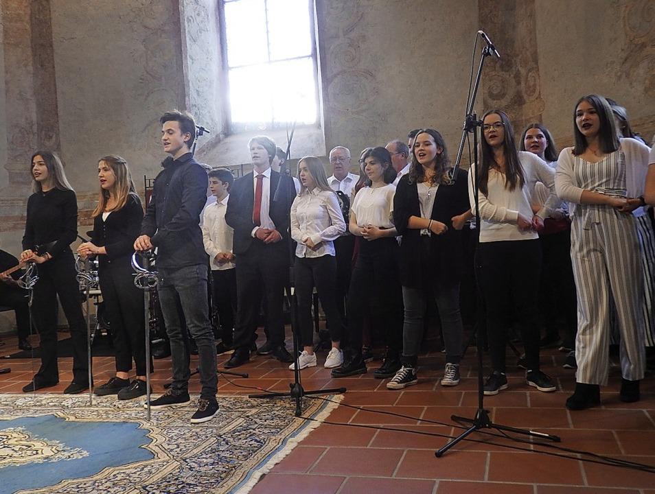 Ein hinreißendes Konzert boten die Mus...nge Instrumentalsolisten aus Müllheim.  | Foto: Bianca Flier