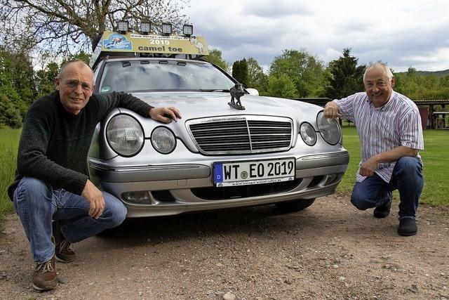Zwei Dogerner starten bei Europa-Orient-Rallye in Richtung Iran
