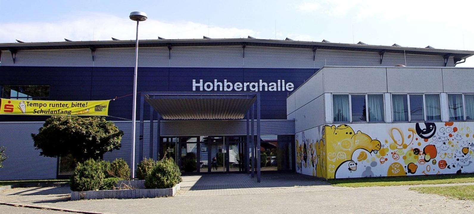 Die Hohberghalle soll erweitert werden.   | Foto: Heidi Fössel