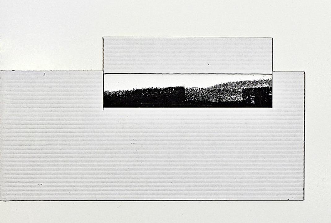 """""""Zeit-Raum""""     Foto: Heinrich Graf"""