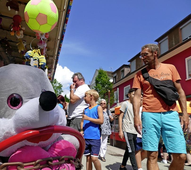 Das Cityfest ist  für den Gewerbeverei...gt viel Kundschaft in die Innenstadt.   | Foto: Dorweiler/Reißmann