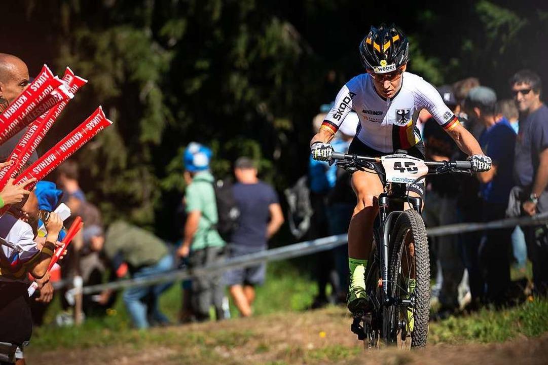 Sie sei gut in Form, erzählt Adelheid ...untry-Rennen bislang nicht auf Touren.  | Foto: Thomas Weschta