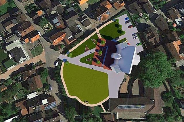 Eckard Riedel lobt den neuen Entwurf zur Umgestaltung des Schlossgartens