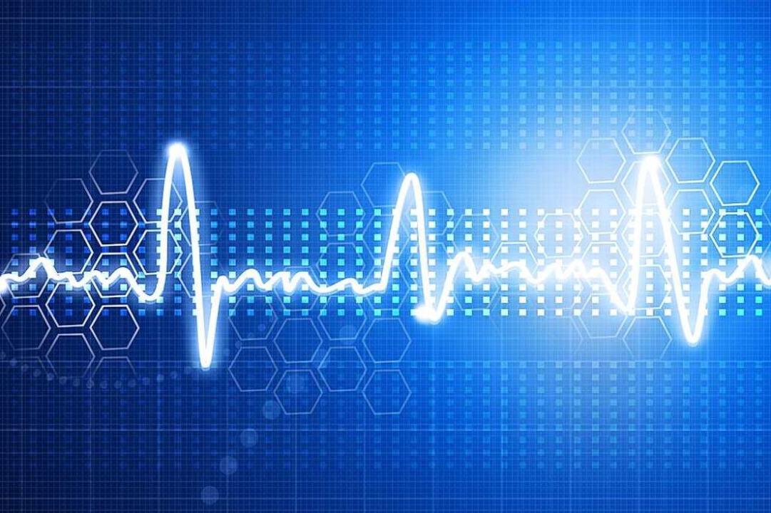 Ein Elektrokardiogramm (EKG) zeigt an, ob das Herz noch normal schlägt.  | Foto: Colourbox.de
