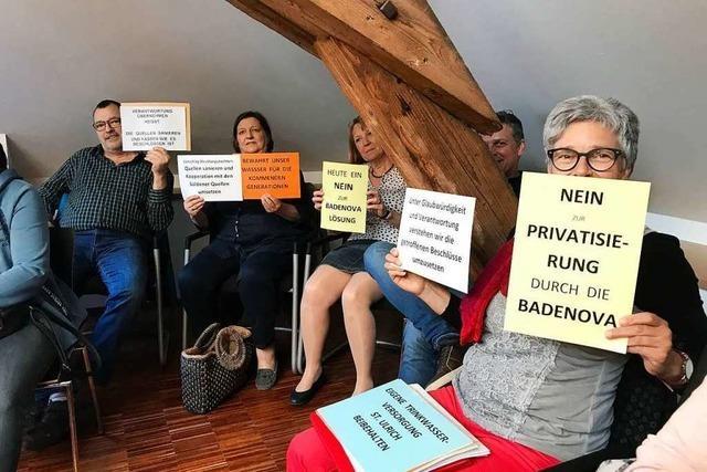 Im Bollschweiler Rat kocht Diskussion ums Wasser hoch
