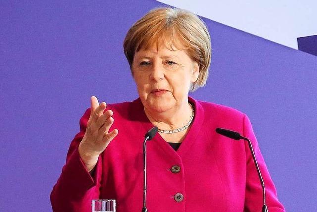 Wenn Angela Merkel geht, geht sie