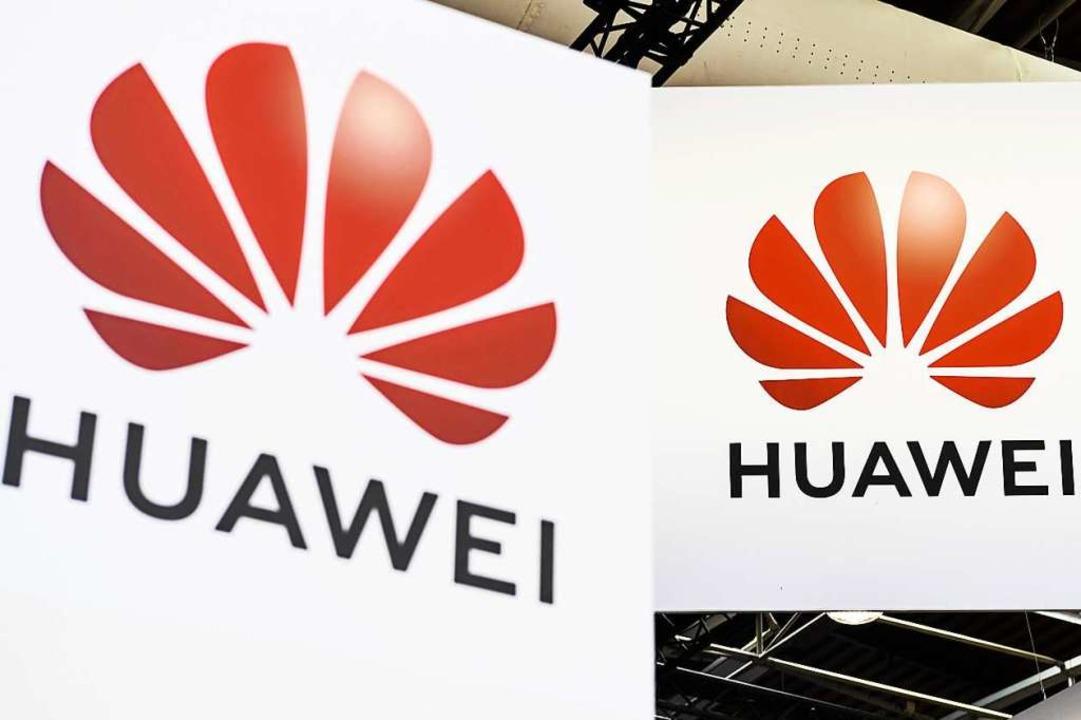 Beim US-Präsidenten nicht gern gesehen – die Huawei-Blume.  | Foto: AFP