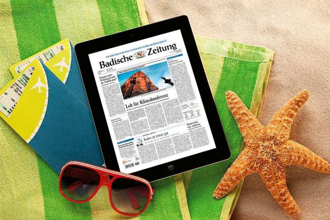 Mit BZ-Digital Premium an jedem Ort informiert sein  | Foto: BZ