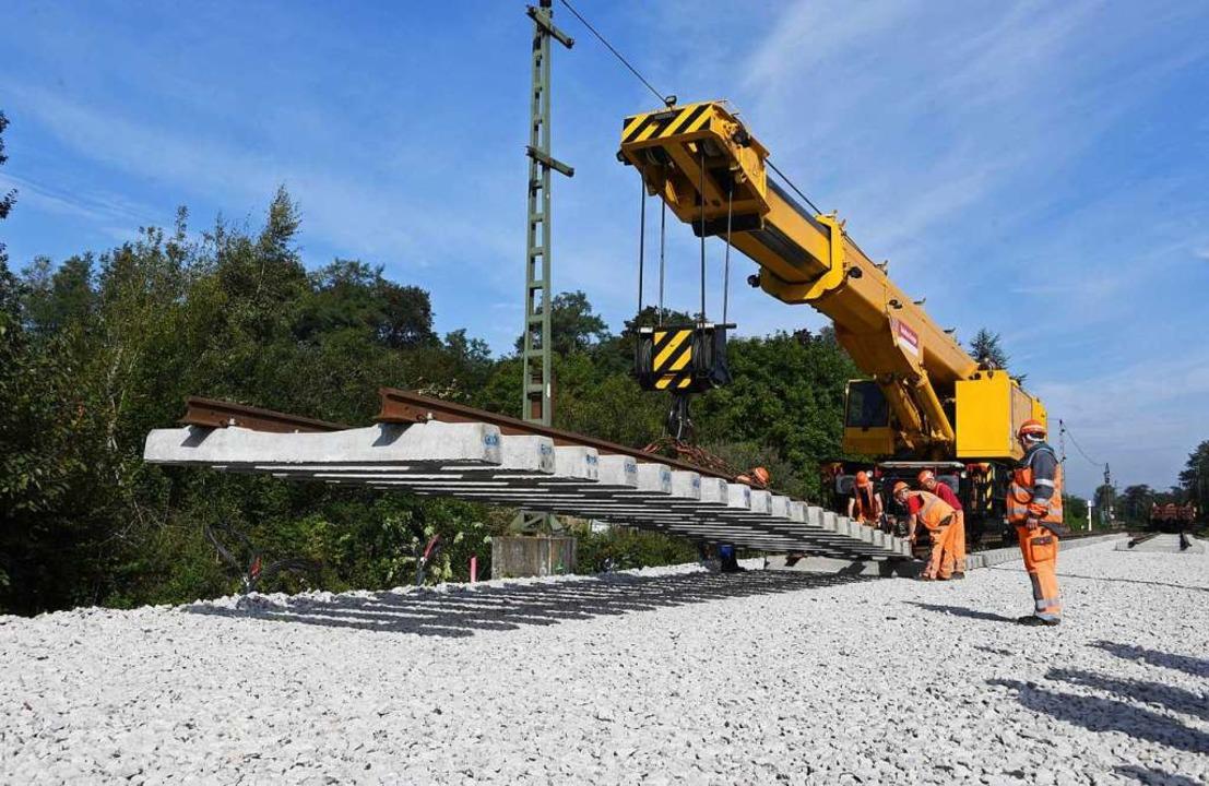 Wer bezahlt die Schieneninfrastruktur?  | Foto: dpa