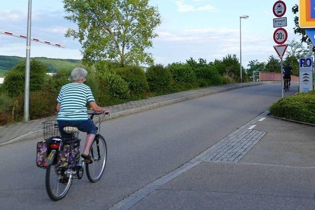 Streckenführung und Finanzierung der Radschnellwege zwischen Weil und Efringen-Kirchen noch unklar