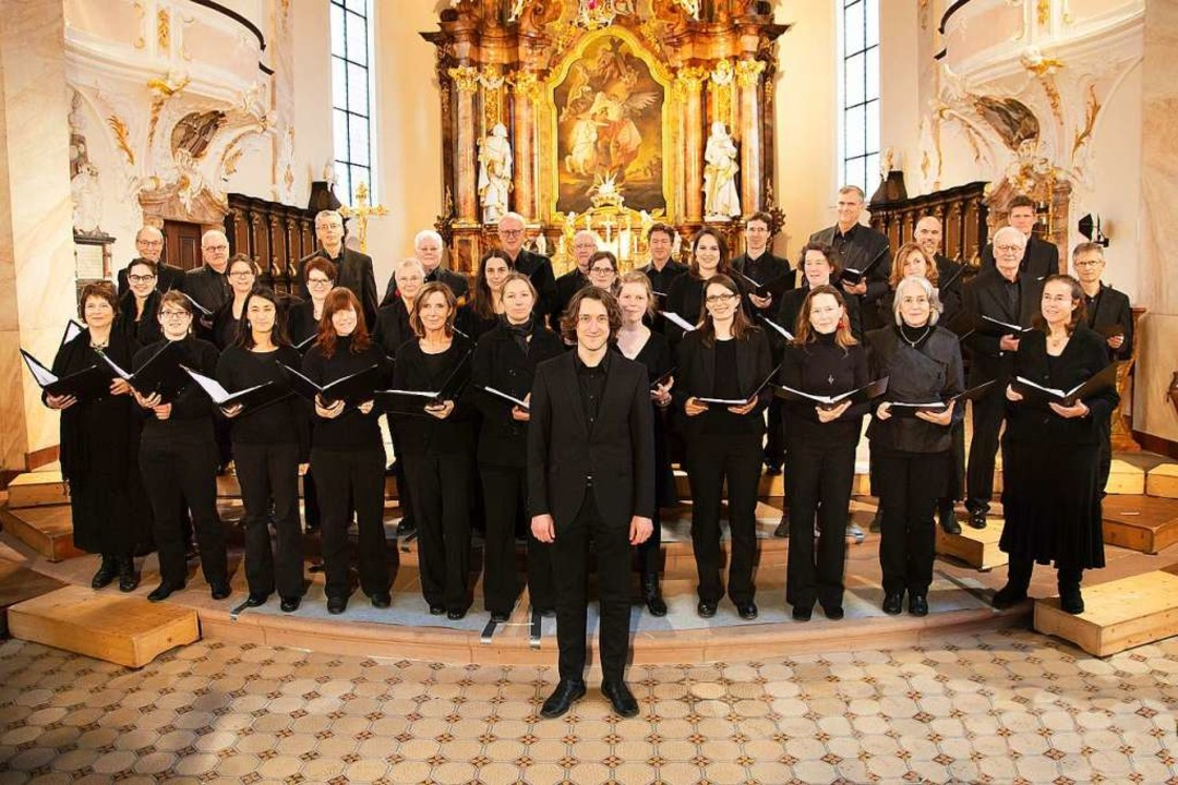 Der Freiburger Kammerchor konzertiert ...er in der Freiburger Herz-Jesu-Kirche.  | Foto: Sascha Eichinger