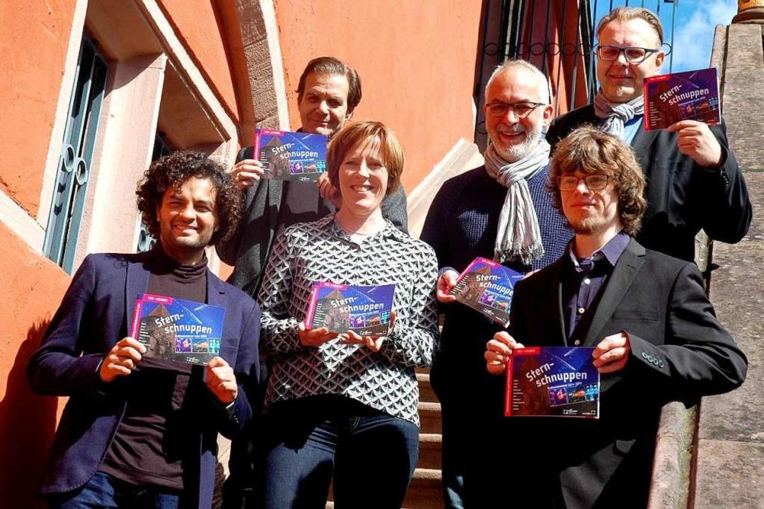 Große  Vorfreude auf den Kultursommer ...eister Guido Schöneboom und Jörg Beese  | Foto: Stadt Lahr/Marion Haid