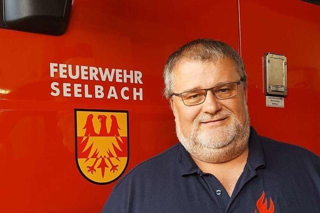 Christian Faißt aus Seelbach lebt für die Feuerwehr